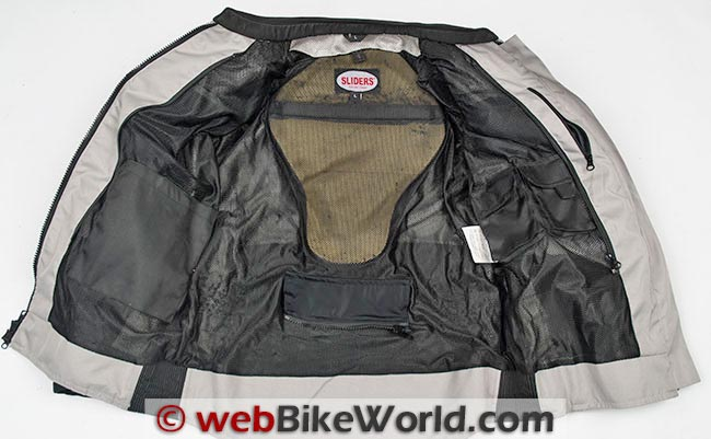 Sliders All Season 2 Jacket Kevlar Interior