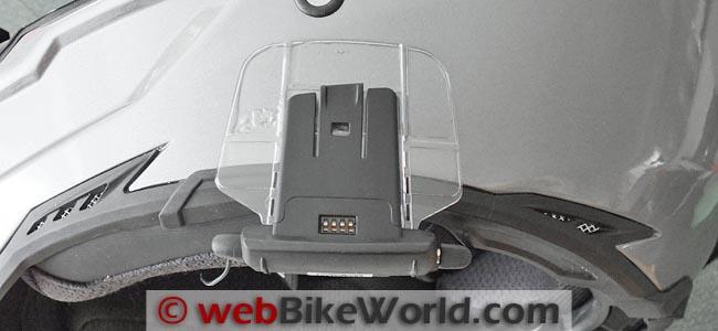 Cardo Scala Rider Q1 Q3 Intercom Mounting Plate Base