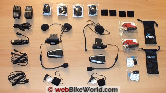 Cardo Scala Rider Q1 Q3 Parts