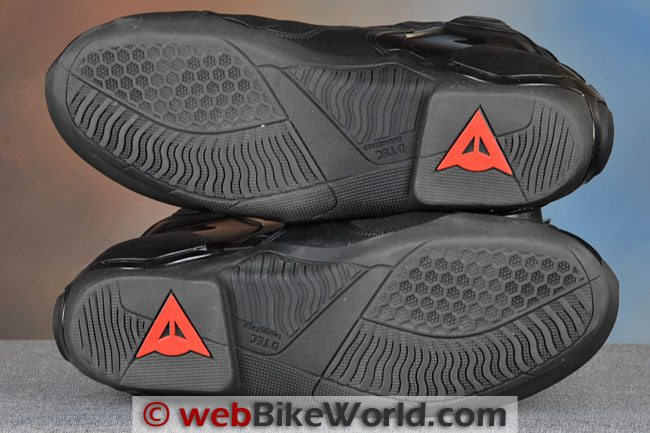 Dainese Dyno C2b shoes Soles