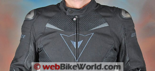Dainese Super Speed Tex Jacket Upper Chest