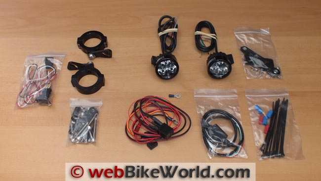 Darla Light Kit Components