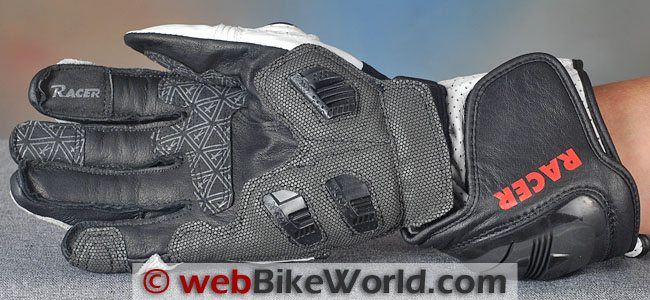 Racer R-Safe Gloves Palm