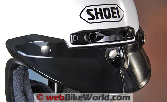 Shoei RJ-Platinum R Top Vents