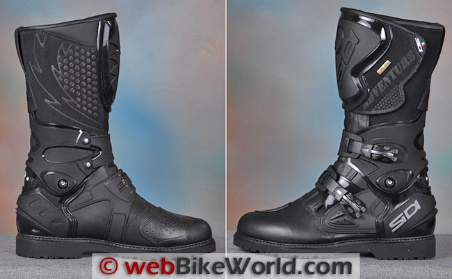 Sidi Adventure Gore-Tex Boots Side Views