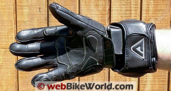 AeroMoto Corsa Pro Gloves Palm