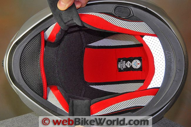 Nolan N86 Helmet Liner