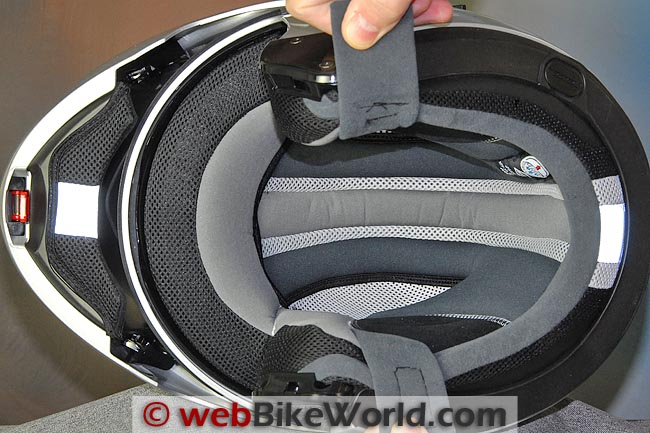 Nolan N91 Helmet Liner