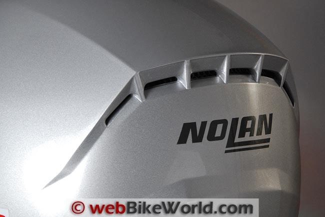 Nolan N91 Helmet Rear Exhaust Vent
