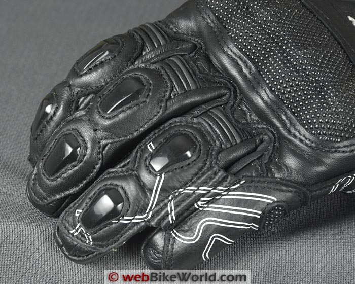 Racer High Speed Gloves Finger Knuckle Protectors