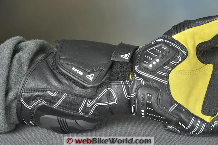 Racer High Speed Gloves Gauntlet