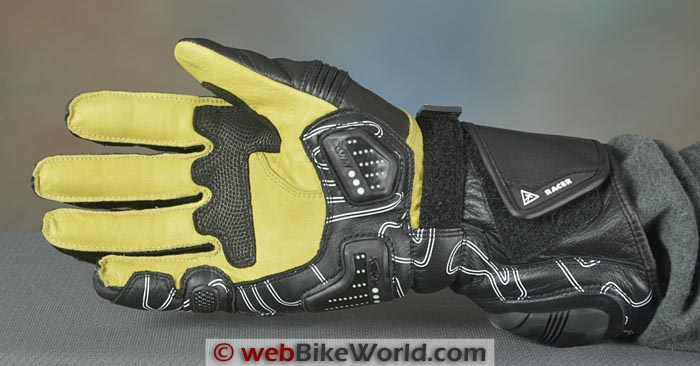 Racer High Speed Gloves Palm