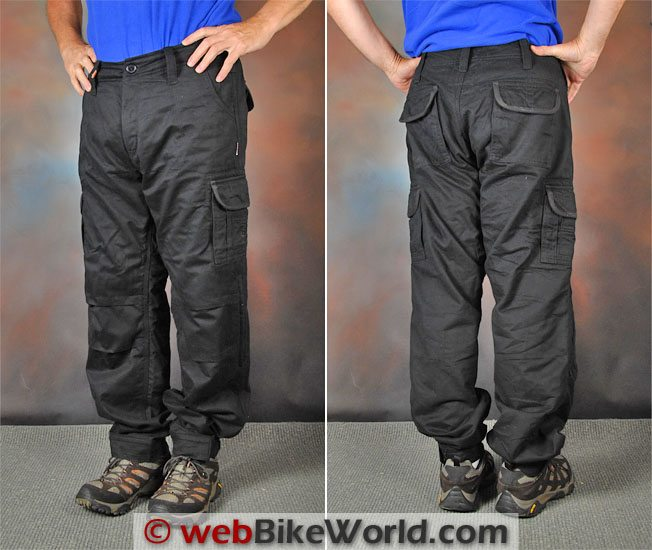 Resurgence Gear Cargo Pants Front Rear Views