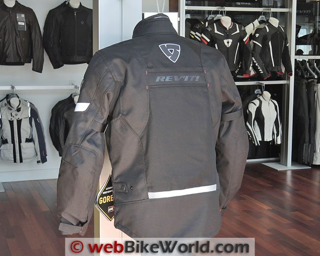 Rev'it Chronos Jacket Rear