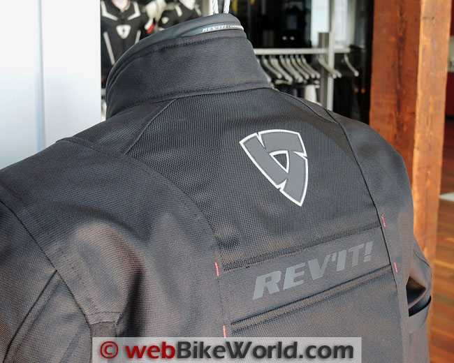 Rev'it Chronos Jacket Upper Back