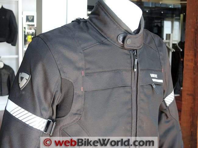 Rev'it Chronos Jacket Upper Chest
