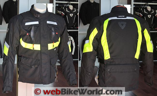 Rev'it Neptune GTX HV Jacket Front Rear
