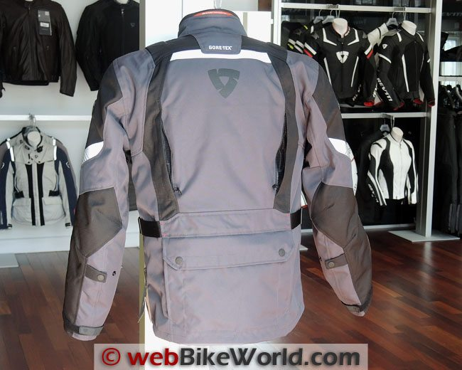 Rev'it Neptune Jacket Rear