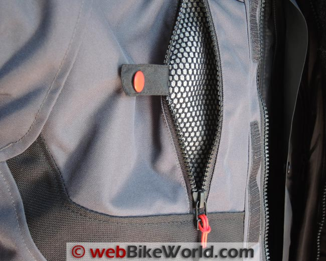 Rev'it Neptune GTX Jacket Vent Close-up