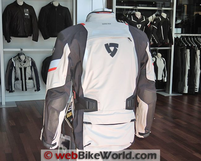 Rev'it Poseidon Jacket Rear