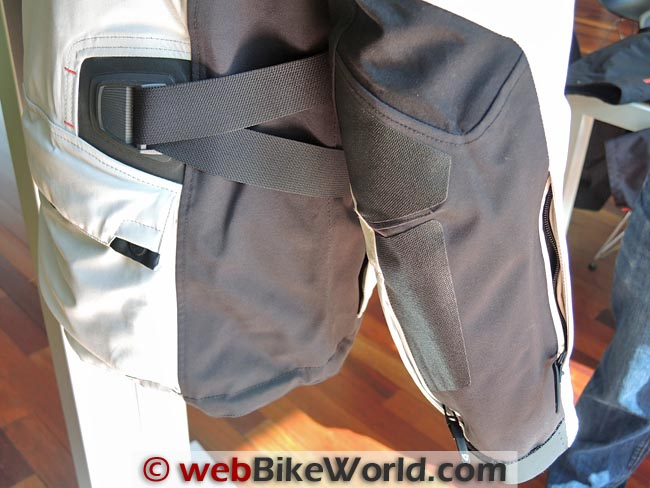 Rev'it Poseidon Jacket Waist Adjuster and SuperFabric
