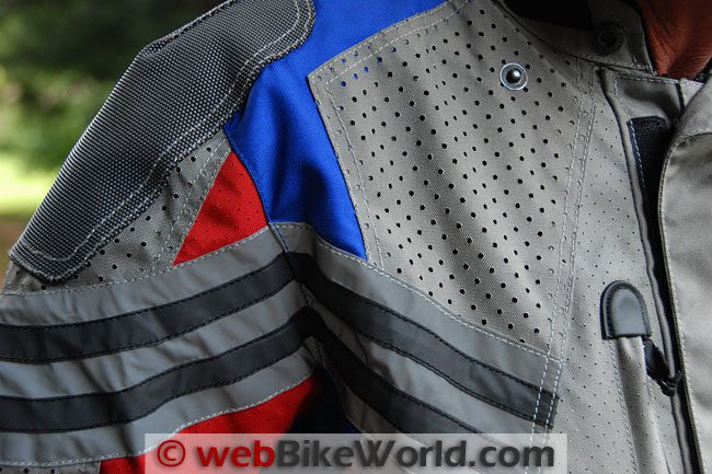 Teiz Motorsports Sahara Jacket Perforations