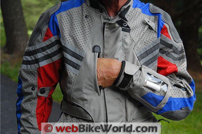 Teiz Motorsports Sahara Jacket Upper Front Pockets