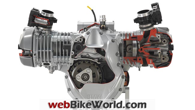 2013 BMW R1200GS Engine