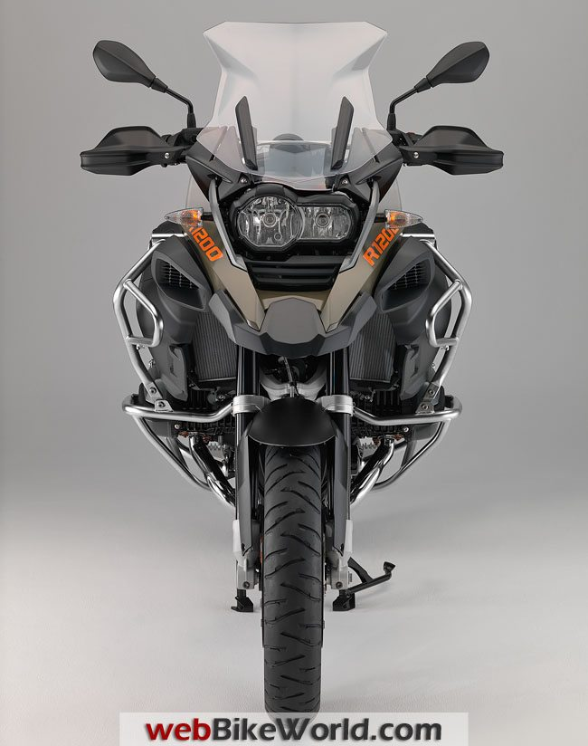 2104 BMW R1200GS Adventure Front View