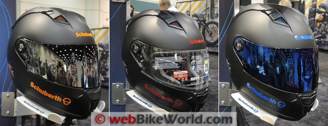 2014 SCHUBERTH SR1 Colors