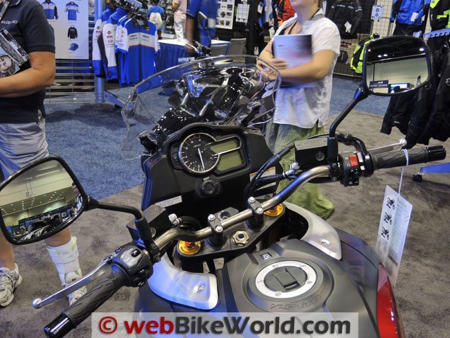 2014 Suzuki V-Strom 1000 ABS Dashboard