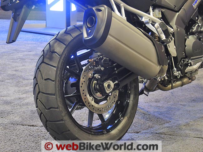 2014 Suzuki V-Strom 1000 ABS Rear Tire