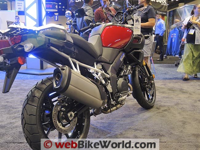 2014 Suzuki V-Strom 1000 ABS Rear