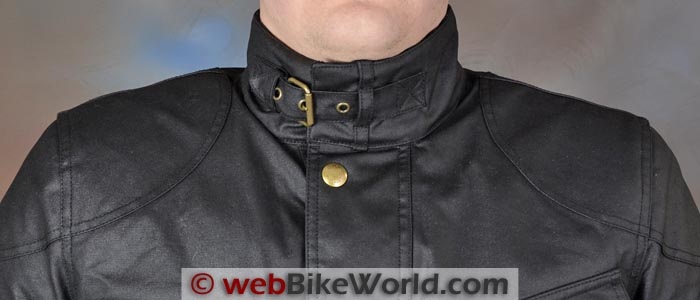 Belstaff Tourist Trophy Jacket Collar