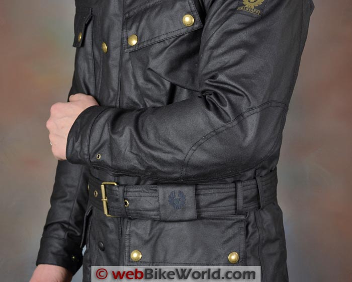 Belstaff Tourist Trophy Jacket Elbow and Waist