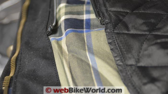 Belstaff Tourist Trophy Jacket Liner Close-up