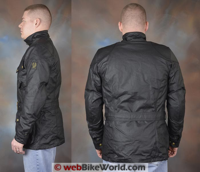 Belstaff Tourist Trophy Jacket Side Rear Views
