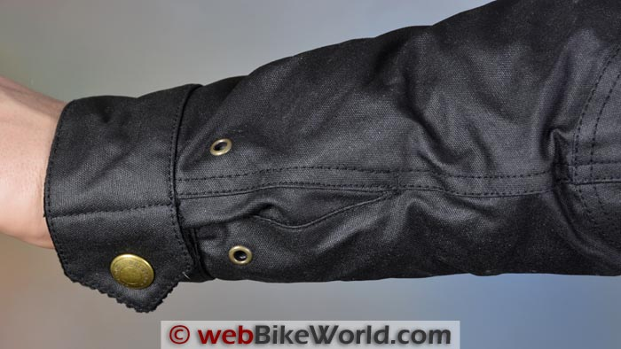 Belstaff Tourist Trophy Jacket Sleeve Cuff