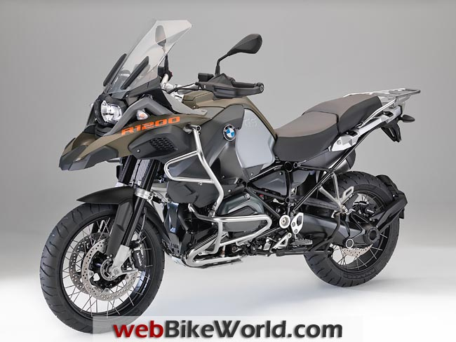 2014 BMW R1200GS Adventure Left Side