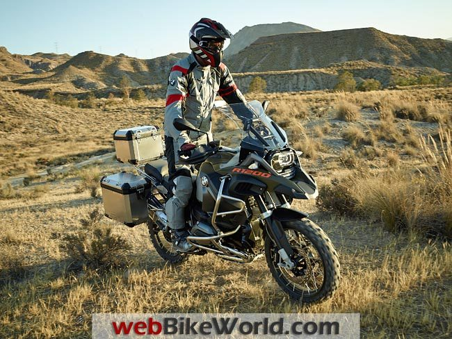 2014 BMW R1200GS Adventure With Rider