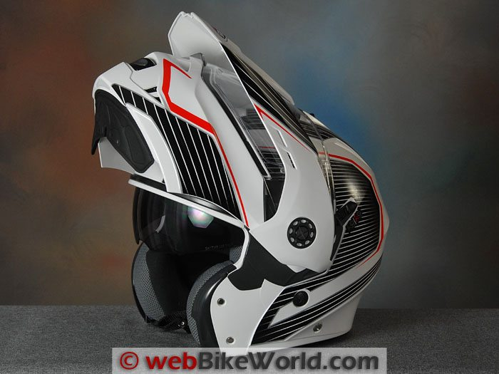 Caberg Tourmax With Visor Open
