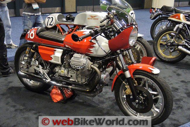 Custom Moto Guzzi