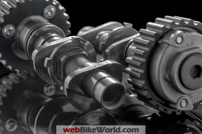 Ducati Testastretta DVT Engine Camshaft