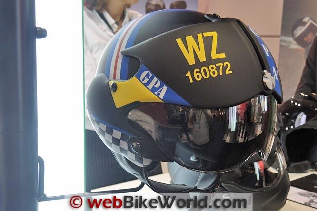 GPA Aircraft Helmet Black