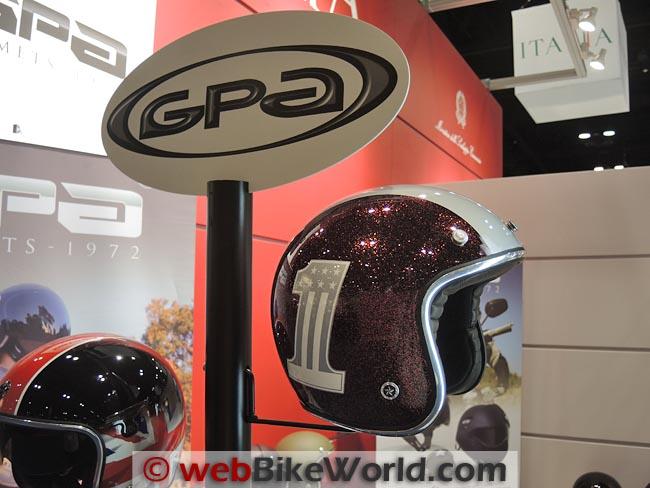 GPA Open Face Helmet