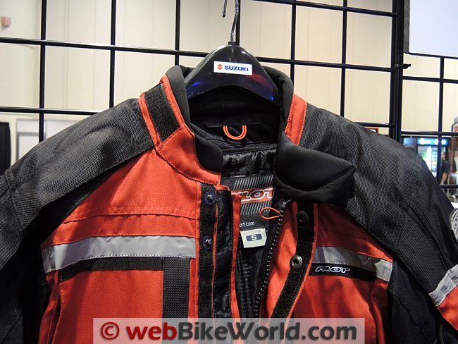Pilot Trans-Urban Jacket Red Neck