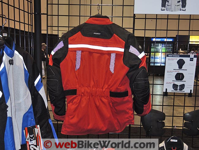 Pilot Trans-Urban Jacket Red Rear