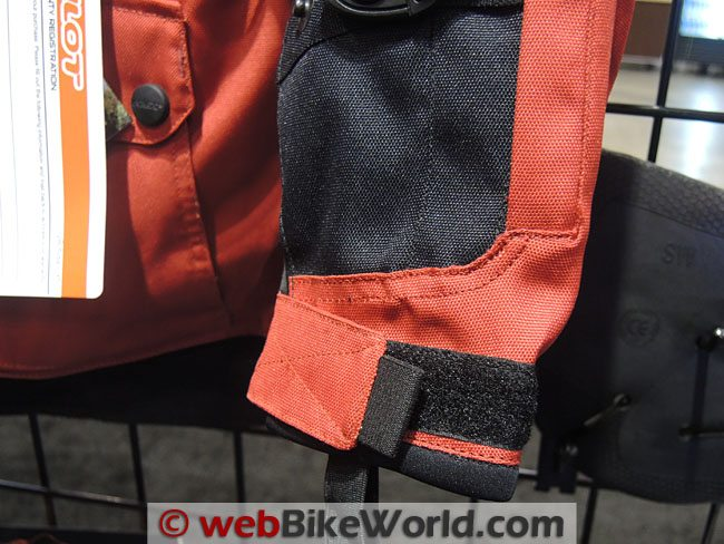 Pilot Trans-Urban Jacket Sleeve Cuff