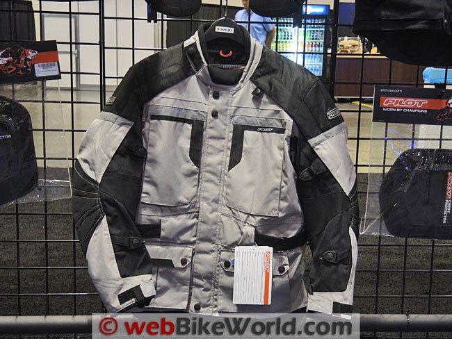 Pilot Trans-Urban Jacket Silver Front