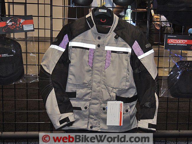 Pilot Trans-Urban Jacket Silver